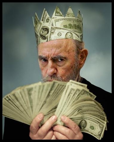Resultado de imagen para Forbes asegura que la fortuna personal de Fidel castro se acera a los mil millones de dólares.