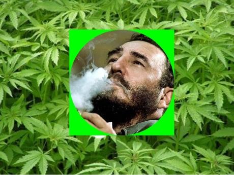 Resultado de imagen para Fidel castro igualito al Tio sam