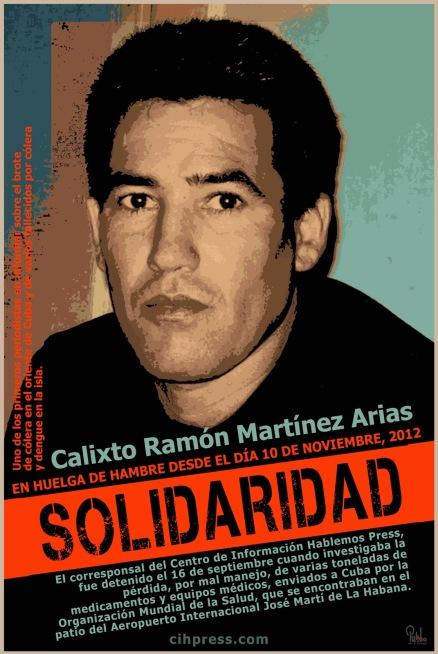 Calixto Ramón Martínez Arias 2012