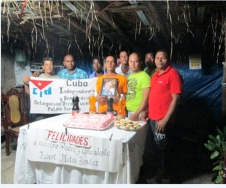 En Palma Soriano celebraron el cumpleaños de Huber Matos