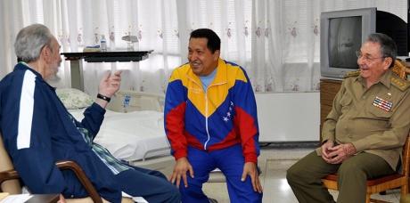 CUBA-VENEZUELA-CASTRO-CHAVEZ