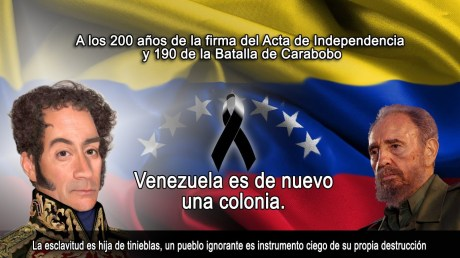 AFICHE VENEZUELA COLONIA CUBANA