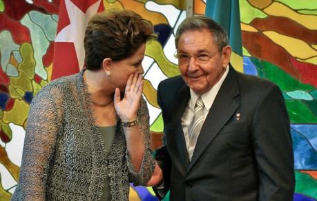 Dilma Rousseff, Raul Castro