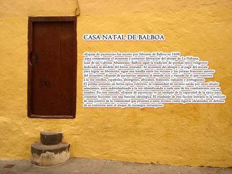 CASA NATAL DE BALBOA