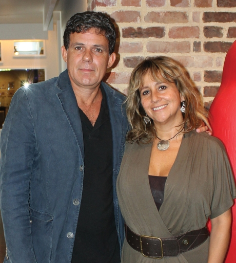 Willy Castellanos y Adriana Herrera